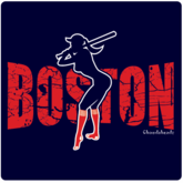 Boston T-Shirt / Sweatshirt - Boston Girl Batter Up