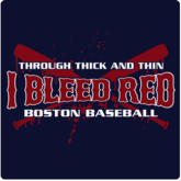 Boston T-Shirt / Sweatshirt I Bleed Red Through Thick & Thin