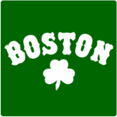 Boston T-Shirt / Sweatshirt, Shamrock