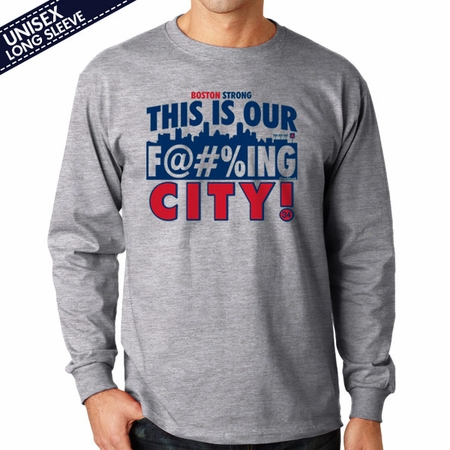Boston, This Is Our City T-Shirt