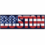 Boston USA Sticker