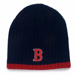 Boston Winter Beanie - Navy & Red