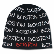 Boston Wrap Winter Beanie Black