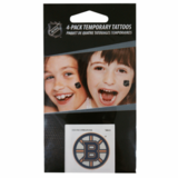 Bruins Temporary Tattoo Pack