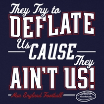 Deflate Us Cause They Ain't Us T-Shirt