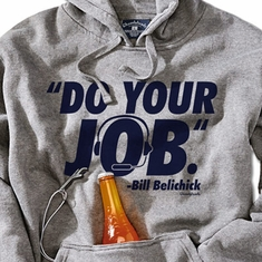 Do Your Job Tailgater Hoodie