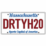 DRTYH20 License plate sticker