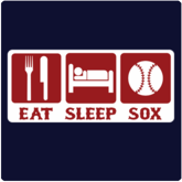 Eat Sleep Sox T-Shirt / Sweatshirt