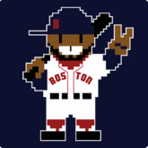 Eight Bit Boston Baseball T-Shirt