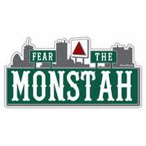 Fear The Monstah Sticker