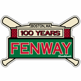 Fenway 100 Years Sticker
