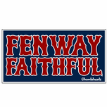 Fenway Faithful Sticker