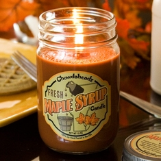 Fresh Maple Syrup Candle