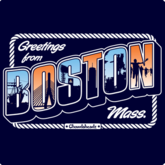 Greetings From Boston T-Shirt