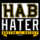Hab Hater Boston Hockey T-Shirt