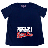 Help I Married A Boston Fan Maternity T-Shirt