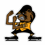 Hockey Fighting Fan Sticker