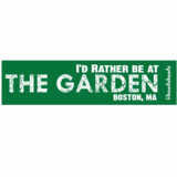 I'd Rather Be At The Garden Sticker (Green)