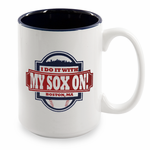I Do It With My Sox On 15 oz Coffee Mug
