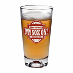 I Do It With My Sox On Pint Glass