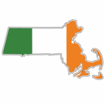 Irish Massachusetts Sticker