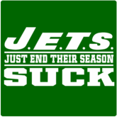 Jets Suck T-Shirt / Sweatshirt - Just End Their Season