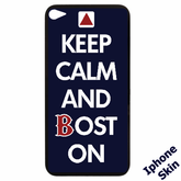 Keep Calm And Boston On iPhone Skin (4/4s)