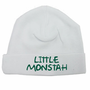 Little Monstah Infant Beanie Cap