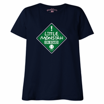 Little Monstah On Board Maternity T-Shirt