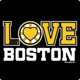 Love Boston Black & Gold T-Shirt / Sweatshirt