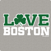 Love Boston Shamrock T-Shirt