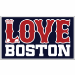 Love Boston Sox Sticker