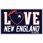 Love New England Sticker