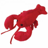 "''Lucy The Lobstah"" Plush Toy Animal"
