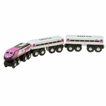MBTA Commuter Rail Wooden Train Set