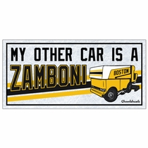 My Other Car Is A Zamboni Sticker