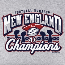 New England Football 2015 Champions T-Shirt