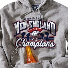 New England Football Dynasty Tailgater Hoodie