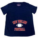 New England Football Maternity T-Shirt