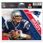 New England Patriots 5x6 Tom Brady Ultra Decal