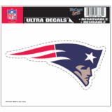 New England Patriots 5x6 Ultra Decal