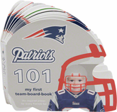 New England Patriots Book, Patriots 101 Kids Flip Book