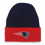 New England Patriots Two-Tone Cuffed Beanie