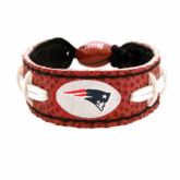 New England Patriots Leather Gamewear Wristband