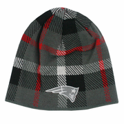 New England Patriots Plaid Fashion Beanie