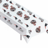 New England Patriots Plastic Table Cover