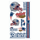 New England Patriots Temporary Tattoos