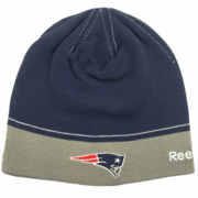 New England Patriots Winter Hat (Navy/Gray)