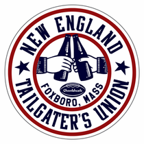 New England Tailgater Union Sticker