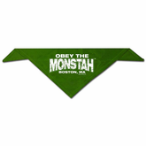 Obey The Monstah Pet / Dog Bandana